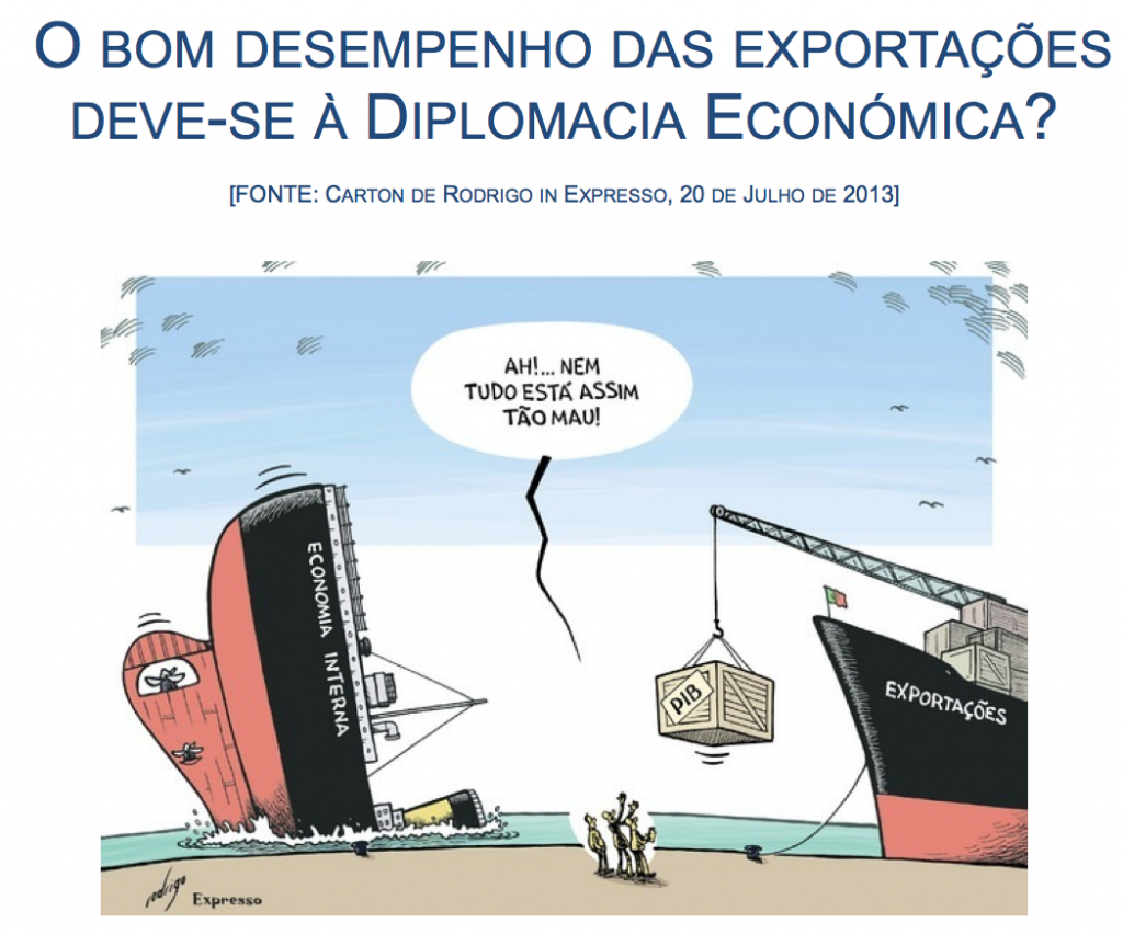 cartoon diplomacia económica