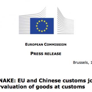 O combate à fraude aduaneira na União Europeia
