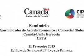 Seminário: Oportunidades do Acordo Comercial Canadá-União Europeia