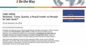 """Workshop: """"Como, Quando e Porquê investir no Mercado de Cabo Verde?"""""""