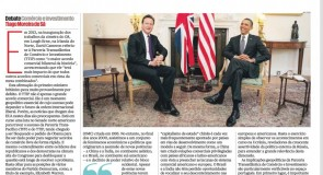 O Acordo de Parceria Transatlântica: para além do comércio internacional, a dimensão geopolítica