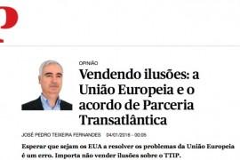 A União Europeia e o acordo de Parceria Transatlântica: uma análise crítica