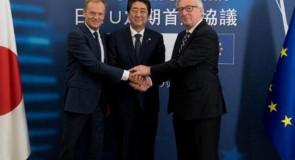UE e Japão chegaram a acordo de princípio sobre parceria económica