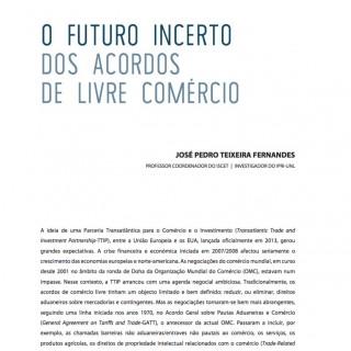 O Futuro Incerto dos Acordos de Livre Comércio