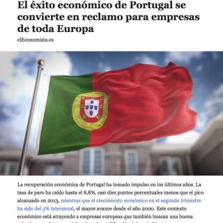 Os sucessos da economia portuguesa vistos pela imprensa de Espanha