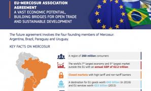 Acordo Comercial União Europeia-Mercosul para 2018?