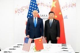 O comércio internacional e a competição sino-americana