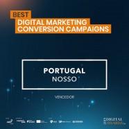 """""""Portugal Nosso""""  ganhou o prémio """"Best Digital Marketing Conversion Campaigns"""" da AEP"""