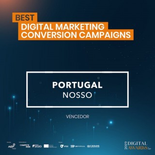 """Portugal Nosso""  ganhou o prémio ""Best Digital Marketing Conversion Campaigns"" da AEP"