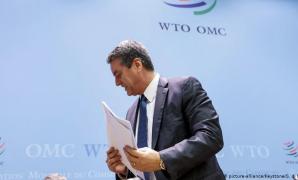 Director-geral da OMC anuncia abandono do cargo, com a organização quase paralisada